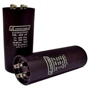 Capacitors for starting motors